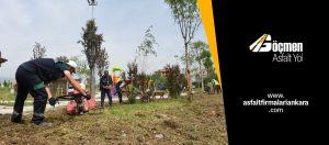 Park Bahçe Koşu Yolu Çalışmaları
