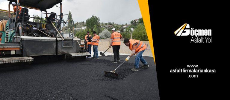 Asfalt Dökümü Ankara Asfalt Firmaları